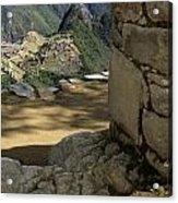 End Of Inca Trail Acrylic Print