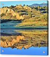 End Of Summer Reflections 2 Acrylic Print