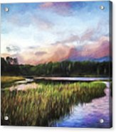 End Of The Day - Landscape Art Acrylic Print