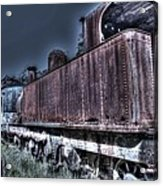 End Of The Line. Acrylic Print