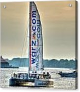 End Of The Tour Back To Shore Acrylic Print