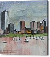 End Of The Workday Acrylic Print by Sue Melanson