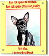 End The Puppy Mills Acrylic Print