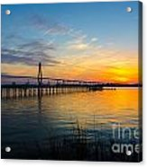 End To The Day Acrylic Print
