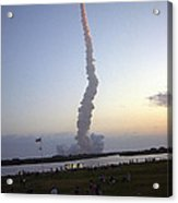 Endeavour Liftoff For Sts-59 Acrylic Print