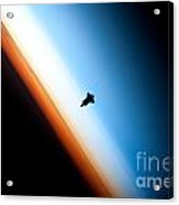 Endeavour Silhouette Sts 130 Acrylic Print