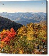 Endless Autumn Mountains Acrylic Print