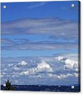 Endless Clouds Acrylic Print