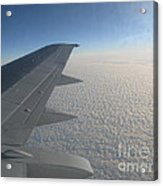 Endless Cotton Cloud Under The Wing Acrylic Print