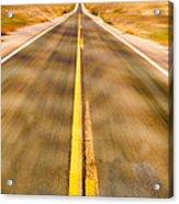 Endless Road Acrylic Print