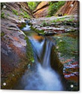 Energy Acrylic Print by Peter Coskun