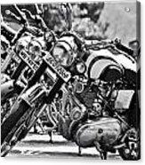 Enfield Motorcycles Acrylic Print