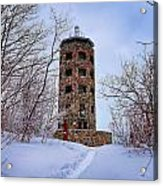 Enger Tower In Winter Acrylic Print