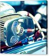 Engine Detail Acrylic Print