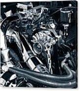 Engine Details Acrylic Print