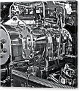 Engine Envy Acrylic Print by Linda Bianic