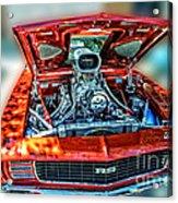 Chevrolet Camaro Rally Sport 1969 Acrylic Print