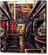 Engine Room Queen Mary 02 Acrylic Print