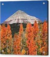 2d10688-engineer Mountain In Fall  Acrylic Print