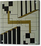 Engineering Target Acrylic Print