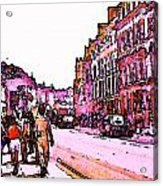 England 1986 Oxford Street Snapshot0145a Jgibney The Museum Zazzle Gifts Acrylic Print