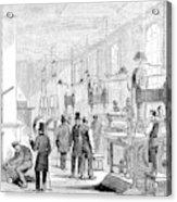England Currency, 1854 Acrylic Print