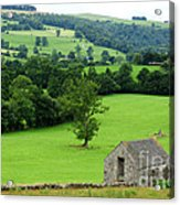Englands Green And Pleasant Land Acrylic Print