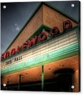 Englewood Theater 4507 Acrylic Print