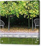 English Autumn Acrylic Print