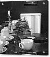 English Breakfast Acrylic Print