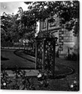 English Country Garden And Mansion - Series II Acrylic Print
