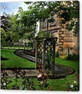 English Country Garden Acrylic Print
