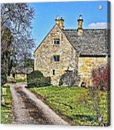 English Farmhouse Acrylic Print