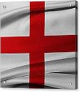 English Flag Acrylic Print