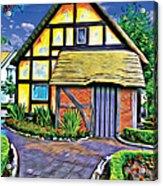 English House Acrylic Print