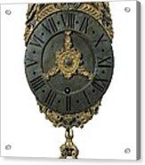English Lantern Clock 18th C.. Baroque Acrylic Print