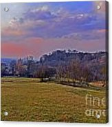 Cotswold Light Acrylic Print