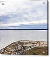 Enid Lake - Winter Landscape Acrylic Print