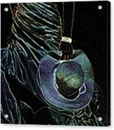 Enigma Acrylic Print by Jenny Rainbow
