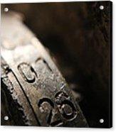 Enigma Numbers Acrylic Print