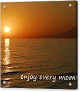 Enjoy Every Moment... Acrylic Print