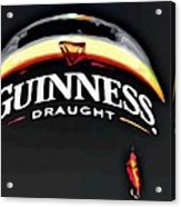 Enjoy Guinness Acrylic Print