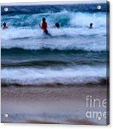 enjoy the ocean I Acrylic Print
