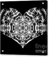 Enlightened Heart Acrylic Print
