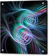 Enlightening Rhythm Acrylic Print