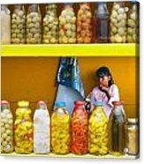 Ensenada Olive Stand 07 Acrylic Print