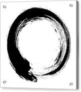 Enso – Circular Brush Stroke Japanese Acrylic Print