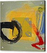 Enso Sun Block Acrylic Print