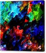 Entangled Colour Acrylic Print