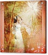 Enter Into His Garden Acrylic Print